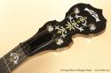 Deering Deluxe Mahogany Banjo head rear
