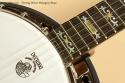 Deering Deluxe Mahogany Banjo inlay