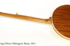 Deering Deluxe Mahogany Banjo, 2011   Full Rear View