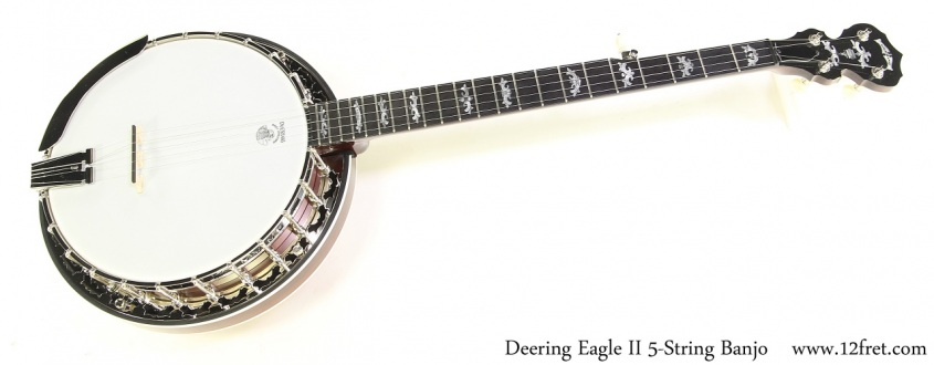 Deering Eagle II 5-String Banjo Full Front View