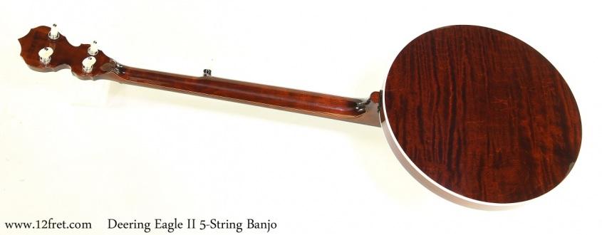 Deering Eagle II 5-String Banjo Full Rear View