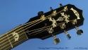 Deering Eagle II Six String Banjo Head Front View
