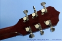 Deering Eagle II Six String Banjo Head Rear View