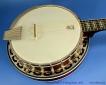 Deering Eagle II Six String Banjo Top View