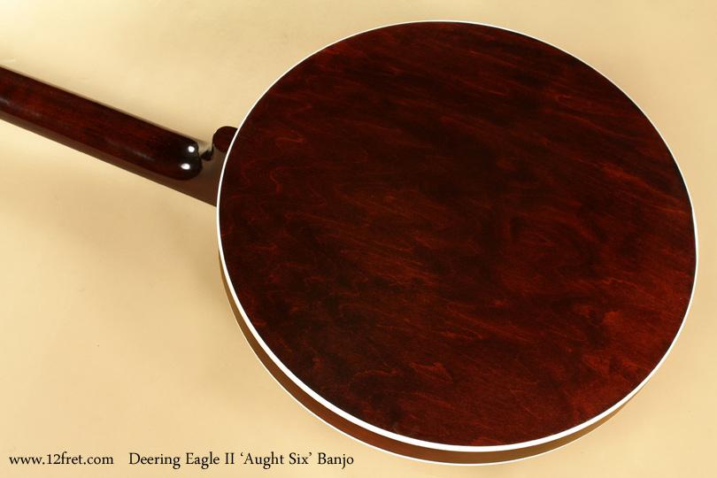 Deering Eagle II Aught 6 Banjo back