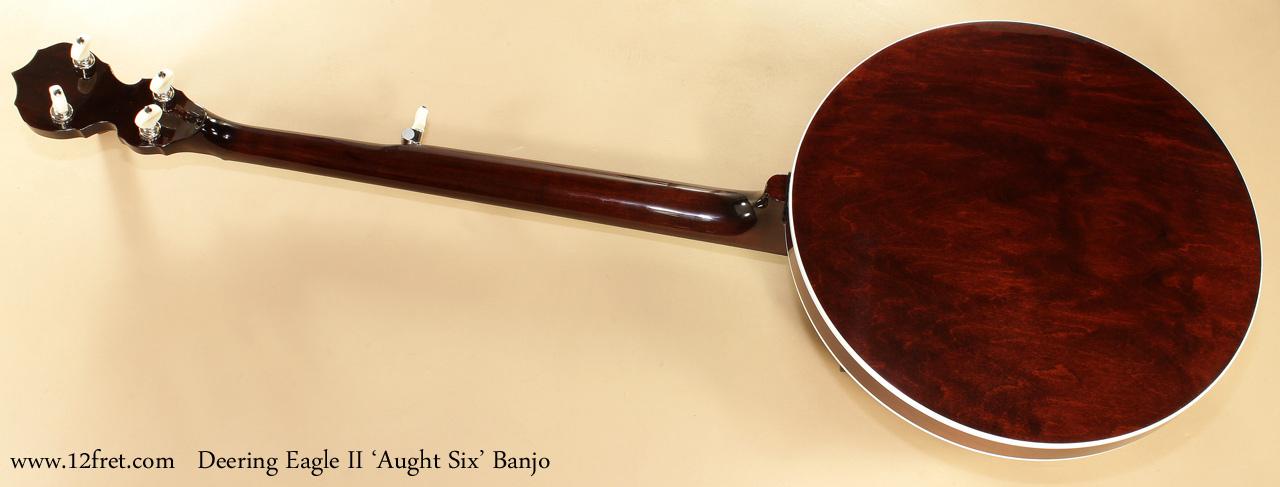 Deering Eagle II Aught 6 Banjo full rear view