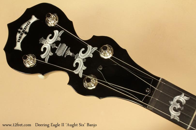 Deering Eagle II Aught 6 Banjo head front
