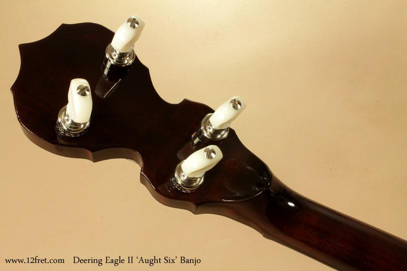 Deering Eagle II Aught 6 Banjo head rear