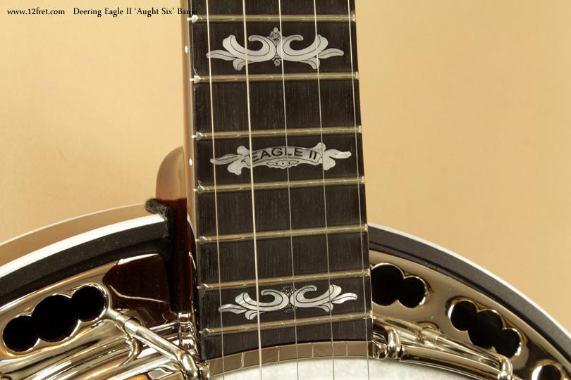 Deering Eagle II Aught 6 Banjo logo inlay