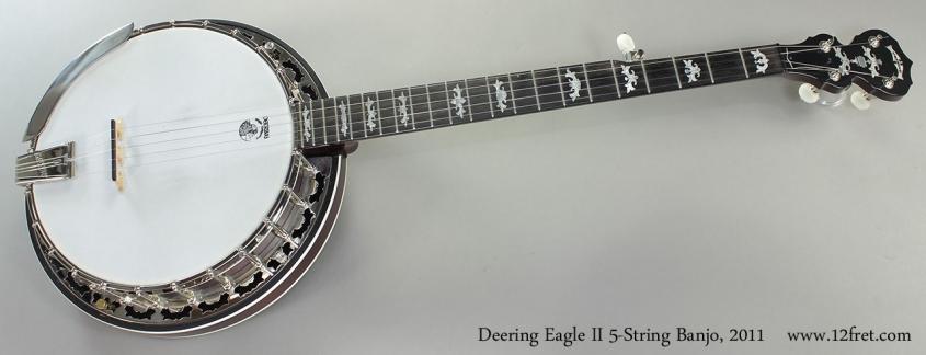 Deering Eagle II 5-String Banjo, 2011 Full Front View