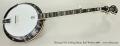 Deering GDL 5-String Banjo, Burl Walnut 2008 Full Front View