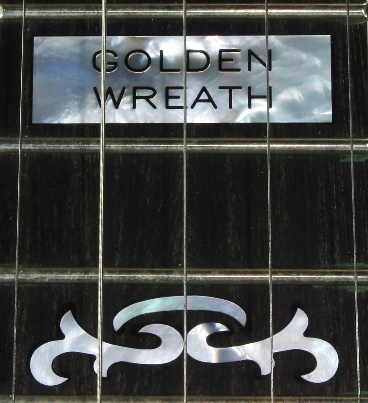 The Deering Golden Wreath Banjo in Walnut  Inlays