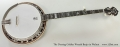 The Deering Golden Wreath Banjo in Walnut Full Front View