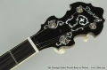 The Deering Golden Wreath Banjo in Walnut Head Front View