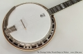 The Deering Golden Wreath Banjo in Walnut Top View