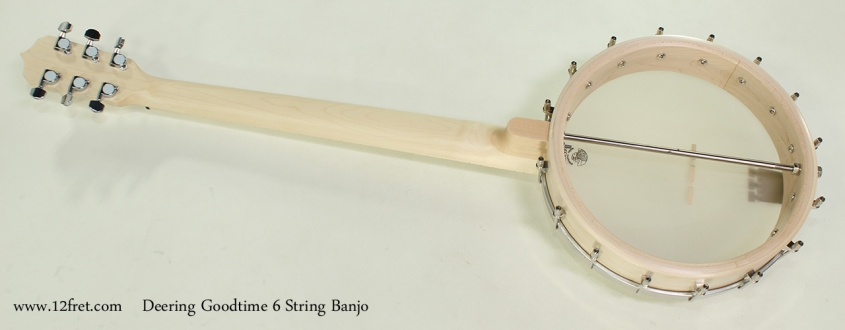 Deering Goodtime 6 String Banjo Full Rear View