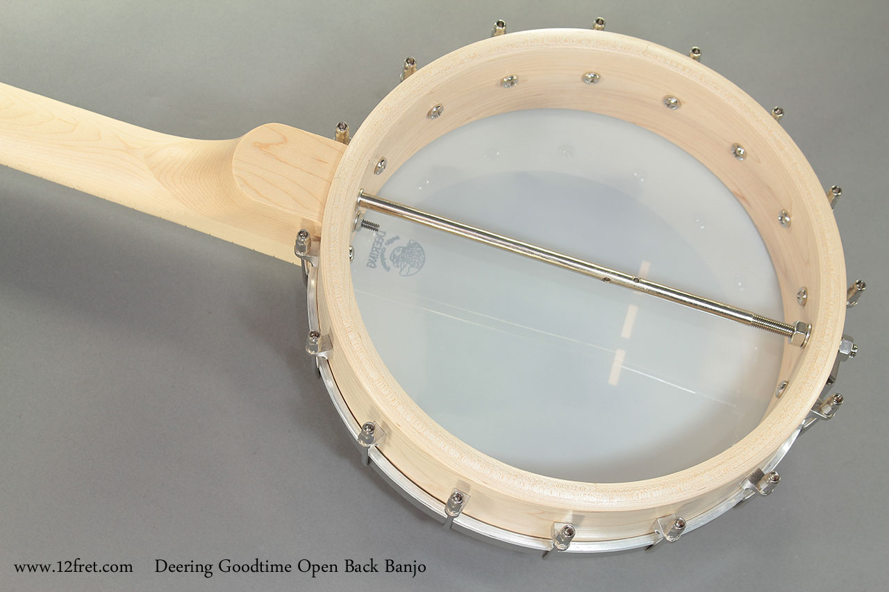Deering Goodtime Open Back Banjo back