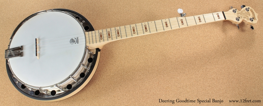 Deering Goodtime Special Banjo full front view