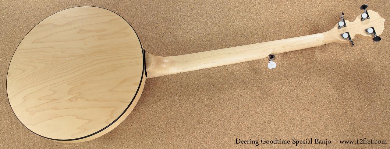 Deering Goodtime Special Banjo full rear view