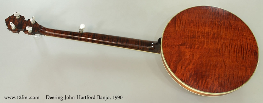 Deering John Hartford Banjo, 1990 Full Rear View
