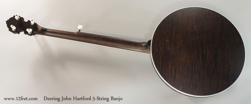 Deering John Hartford 5-String Banjo Full Rear View