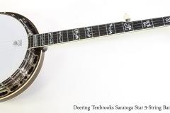 Deering Tenbrooks Saratoga Star 5-String Banjo, 2004   Full Front View