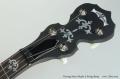Deering Sierra Maple 5 String Banjo Head Front View