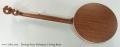 Deering Sierra Mahogany 5 String Banjo Full Rear View