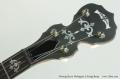Deering Sierra Mahogany 5 String Banjo Head Front View