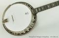 Deering Sierra Mahogany 5 String Banjo Top View