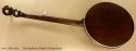 Deering Sierra Maple 5-String Banjo full rear view
