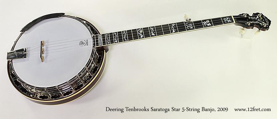 Deering Tenbrooks Saratoga Star 5-String Banjo, 2009 Full Front View