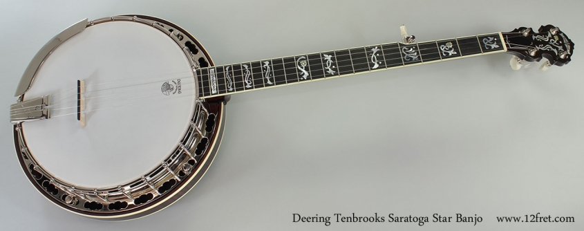 Deering Tenbrooks Saratoga Star Banjo Full Front View