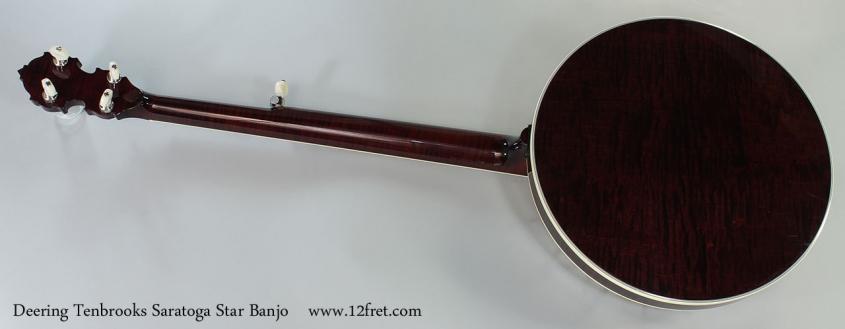 Deering Tenbrooks Saratoga Star Banjo Full Rear View
