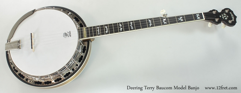 Deering Terry Baucom Model Banjo Full Front View