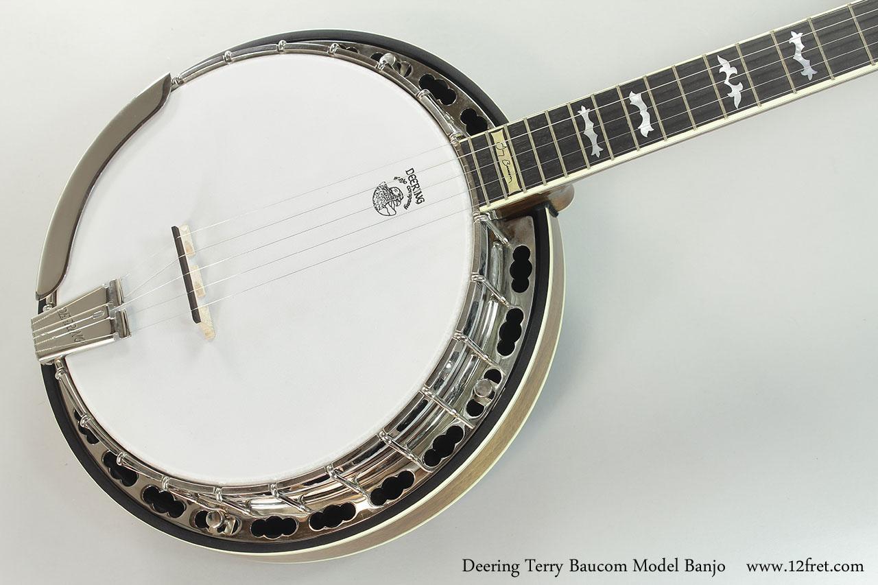 Deering Terry Baucom Model Banjo  Top View