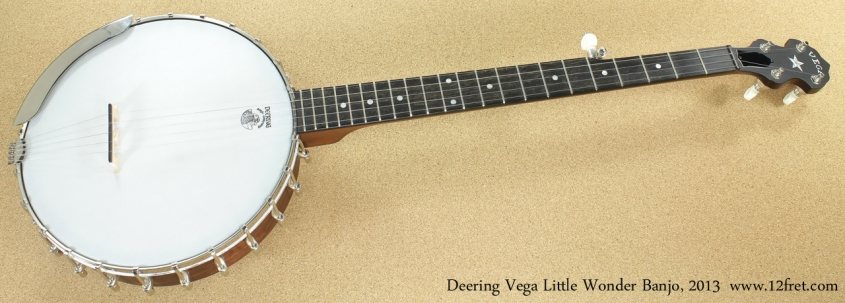 Deering Vega Little Wonder 2013 full front view
