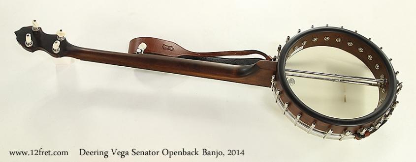 Deering Vega Senator Openback Banjo, 2014 Full Rear View