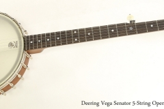 Deering Vega Senator 5-String Open Back Banjo   Full Front View