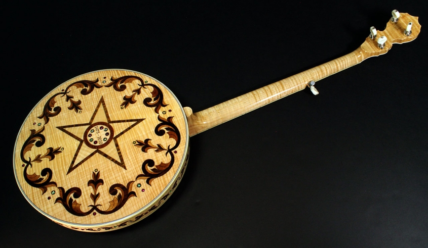Deerring 35th Anniversary Limited Edition Banjo  Full Rear View