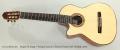 Sergei De Jonge 7 String Cutaway Classical Guitar Left Handed, 2013 Full Front View