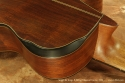 Sergei de Jonge 8 String Classical Guitar 1995 back contour
