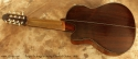 Sergei de Jonge 8 String Classical Guitar 1995 full rear view
