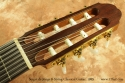 Sergei de Jonge 8 String Classical Guitar 1995 head front