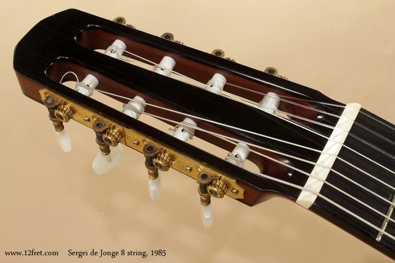 Sergei de Jonge 8 String Classical 1985 head front