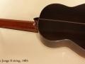 Sergei de Jonge 8 String Classical 1985 full rear view