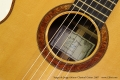 Sergei de Jonge 630mm Classical Guitar, 2007 Label and Rosette View