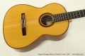 Sergei de Jonge 630mm Classical Guitar, 2007 Top View