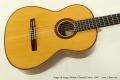 Sergei de Jonge 630mm Classical Guitar, 2007 Top View