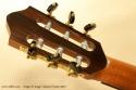 Sergei de Jonge Classical Guitar 2010 head rear